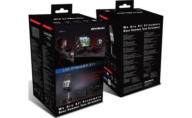AverMedia Live Streamer 311 Starter Kit