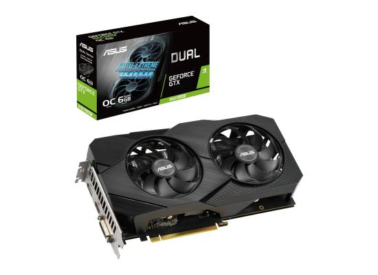 ASUS NVIDIA GeForce GTX 1660 SUPER 6GB DUAL OC EVO Turing