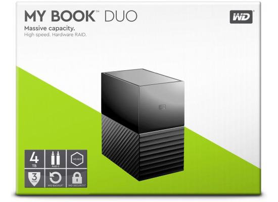 WD 4TB My Book Duo Desktop RAID External HDD - USB 3.1