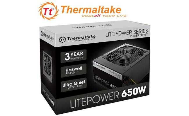 Thermaltake Litepower Gen2 650W ATX Black