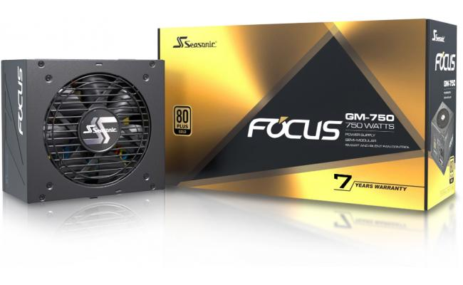 Seasonic FOCUS GM 750W 80+ Gold Semi-Modular