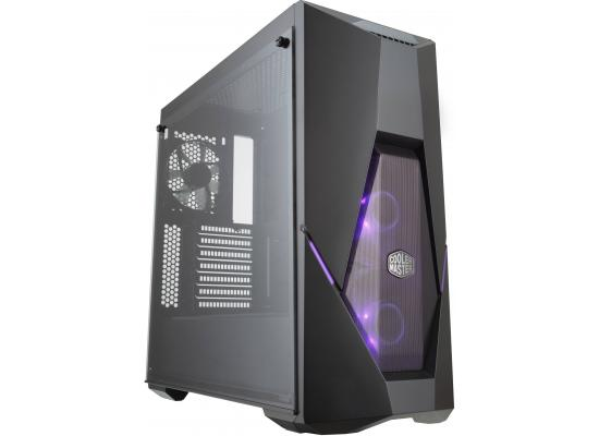 CoolerMaster MasterBox K500 RGB Tempered Glass