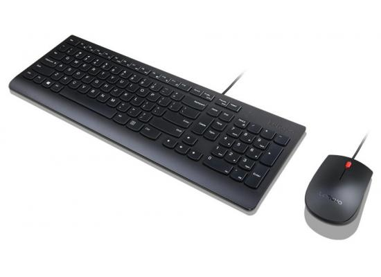Lenovo Essential Wired Combo - Keyboard & Mouse Set