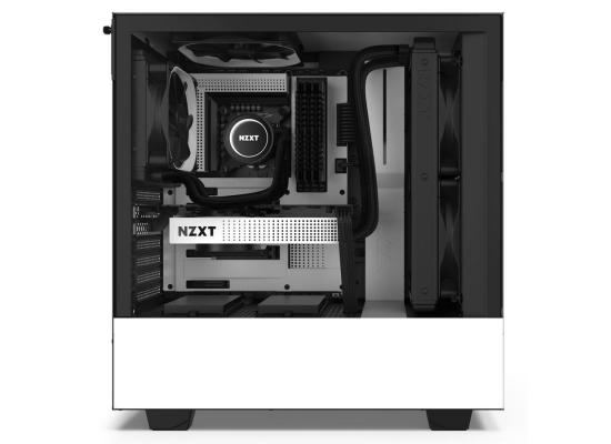 NZXT White H510 Mid Tower Windowed PC Gaming Case