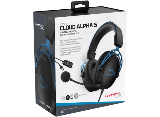 HyperX Cloud Alpha S 7.1 Virtual Surround Gaming Headset
