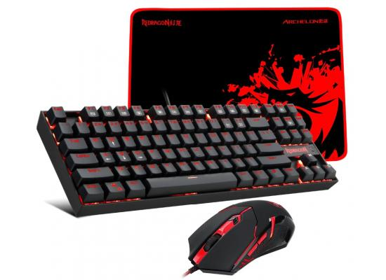 Redragon K552-BA Gaming COMBO ( Keyboard + Mouse + Pad )