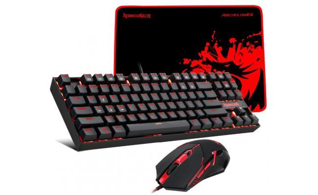 Redragon K552-BA Gaming COMBO ( Keyboard + Mouse + Pad )