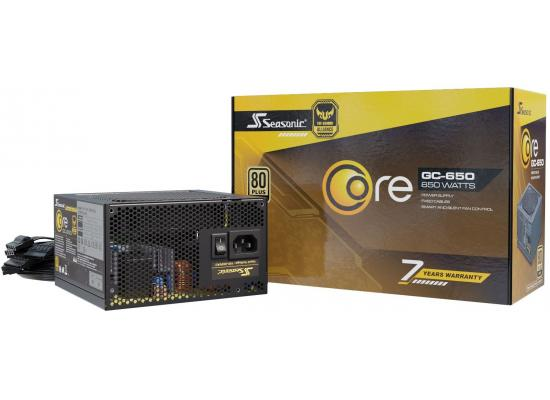 Seasonic CORE GC 650w 80+ Gold TUF Gaming Alliance