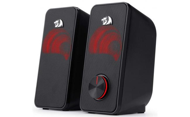Redragon Stentor GS500 Stereo Gaming Speakers Red LED
