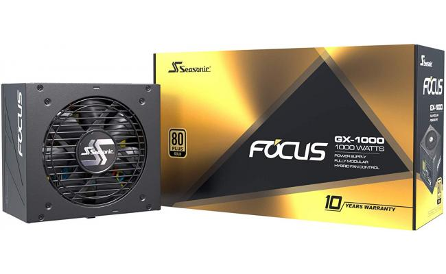Seasonic FOCUS GX 1000W 80+ Gold Full-Modular