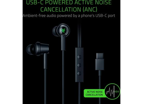 Razer Hammerhead USB-C ANC In-Ear Headphones