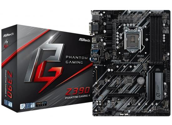 ASRock Intel Z390 Phantom Gaming 4 ATX Motherboard
