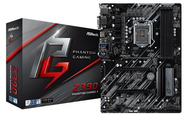 ASRock Intel Z390 Phantom Gaming 4 ATX Motherboard