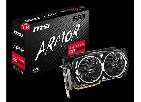MSI AMD Radeon RX 590 ARMOR OC 8GB GDDR5 Graphics Card