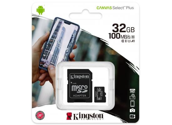 Kingston SDCS2/32GB Canvas Select Plus 32GB Class 10