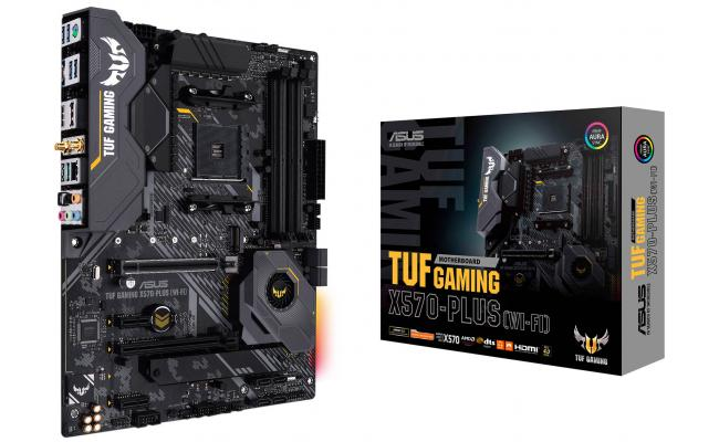 ASUS AMD Ryzen TUF GAMING X570-PLUS WIFI AMD X570