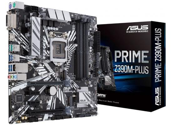 ASUS PRIME Intel Z390M-PLUS 9th Gen Micro ATX Motherboard