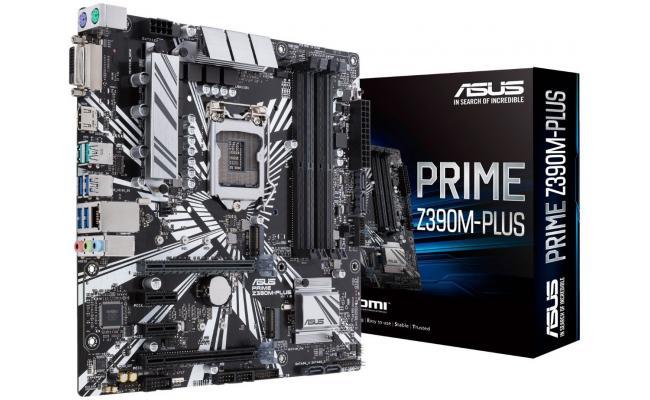 ASUS PRIME Intel Z390M-PLUS 9th Gen Micro ATX Motherboard