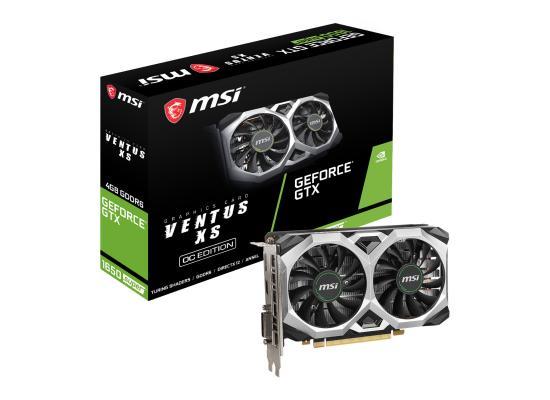 MSI NVIDIA GTX 1650 SUPER 4GB VENTUS XS OC Turing