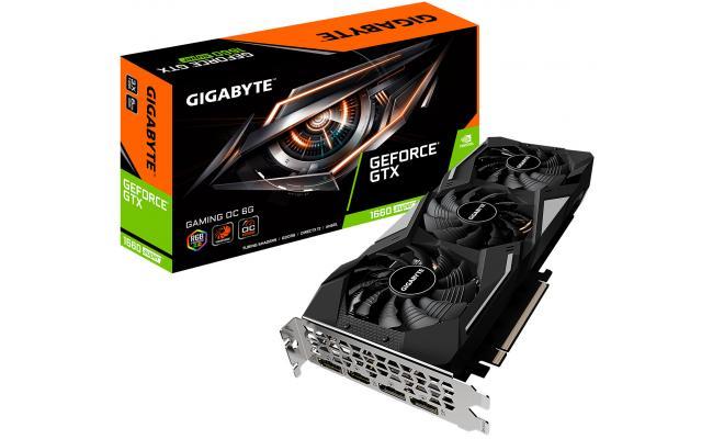 Gigabyte NVIDIA GTX 1660 SUPER 6GB GAMING OC Turing
