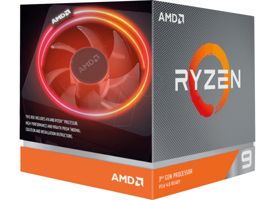 AMD RYZEN 9 3900X 12-Core 3.8 GHz (4.6 GHz Max Boost)
