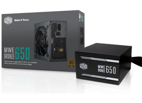 Cooler Master MWE 650W 80+ Certified (Black)