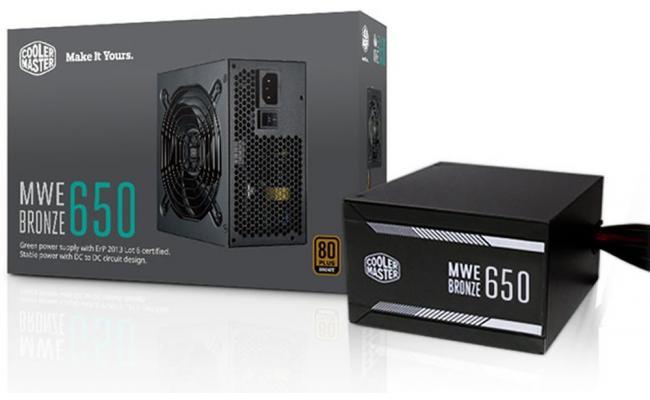 Cooler Master MWE 650W 80+ Certified (Black)
