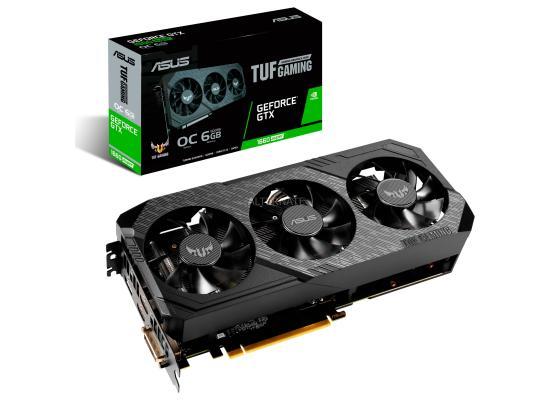 ASUS NVIDIA TUF3 GTX 1660 TI 6GB TUF3 OC Turing Graphics Card