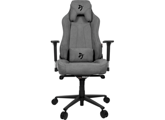 Arozzi  Vernazza Soft Fabric Gaming Chair - Ash