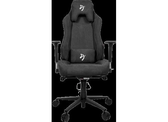 Arozzi  Vernazza Soft Fabric Gaming Chair - Dark Grey