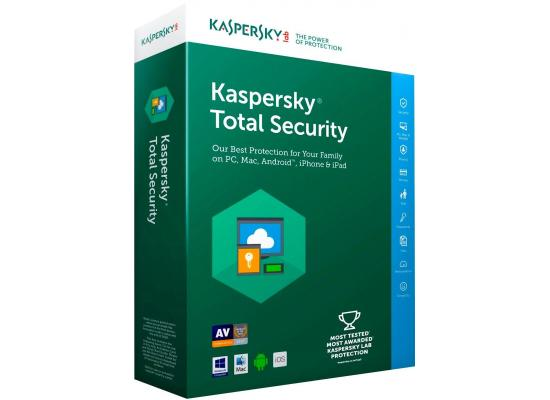 Kaspersky Total Security Multi-Device (3 Devices / 1 Year)