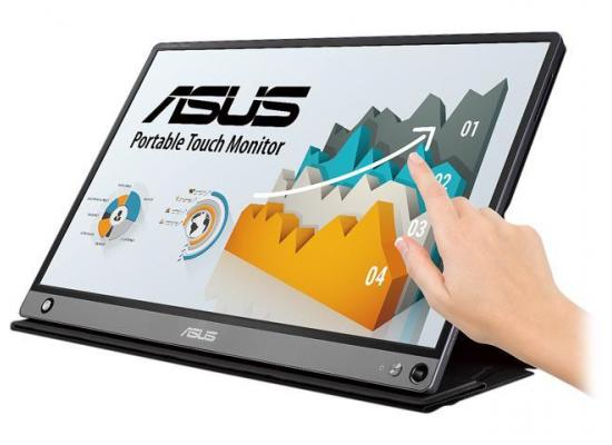 "ASUS ZenScreen MB16AMT 15.6"" Multi-Touch IPS Monitor"