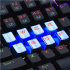 Redragon A103B Mechanical Keyboard Caps 12 - Blue