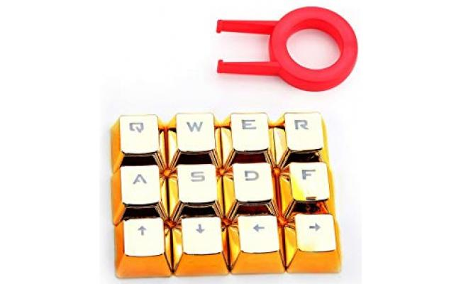 Redragon A103G Mechanical Keyboard Caps 12 - Gold