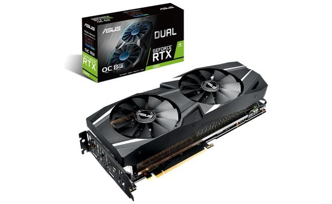 ASUS DUAL RTX 2080  8GB VR Ready Gaming Graphics Card