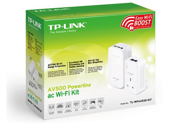 TP-Link TL-WPA4530 Powerline 500 ac Wi-Fi Kit