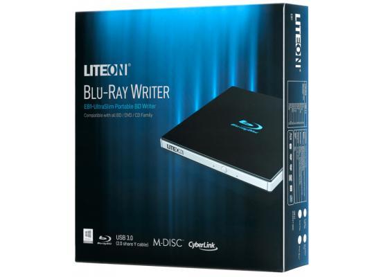 Lite-On EB1 24x Ultra-Slim Portable USB 3.0 Blu-Ray UHD
