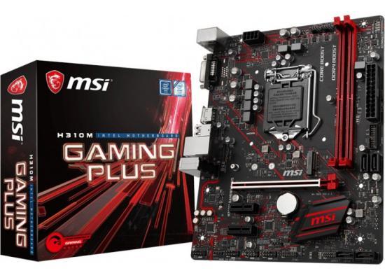 MSI H310M GAMING PLUS Intel H310 DDR4 M.2 M.B