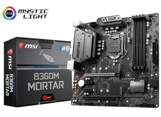 MSI B360M MORTAR Intel B360 HDMI Micro ATX M.B