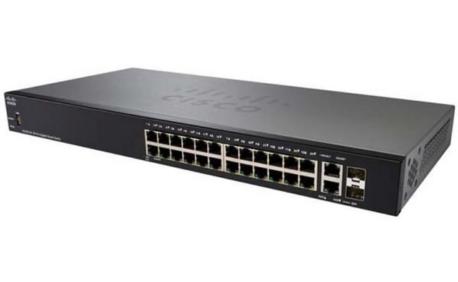 Cisco SG250-26 26-Port POE Managed Gigabit Ethernet Switch