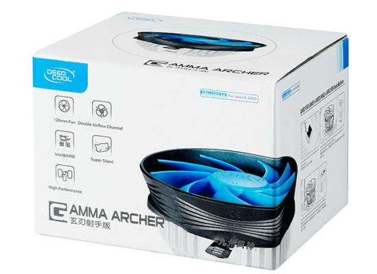 DEEPCOOL GAMMA ARCHER 120mm CPU Cooler for Intel & AMD