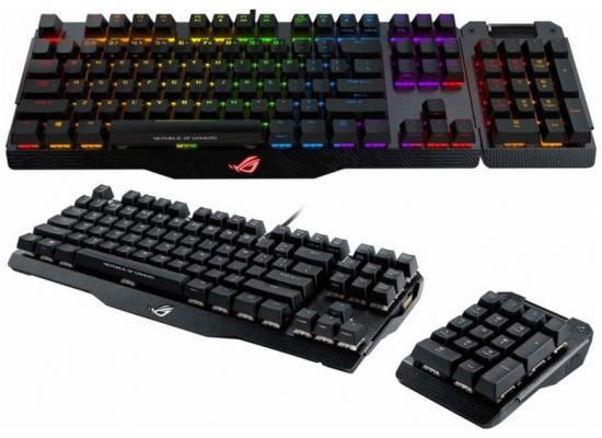Asus Rog Claymore Aura Sync Mechanical Cherry MX Red
