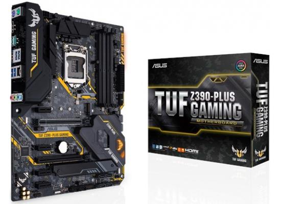 ASUS TUF Z390-Plus Gaming Intel Z390 ATX Motherboard
