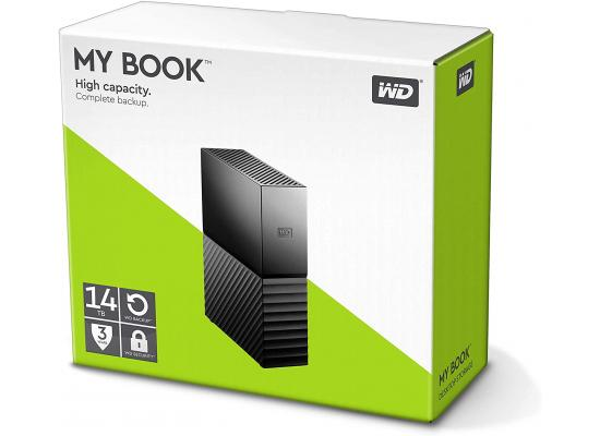 WD My Book 14TB USB 3.0 Desktop Hard Drive
