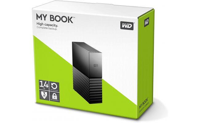 WD My Book 14TB USB 3.0 Desktop Hard Drive
