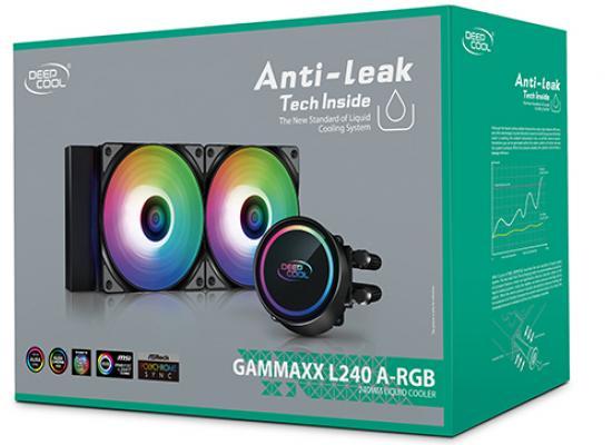 DEEPCOOL GAMMAXX L240 A-RGB AIO Liquid Cooler Anti-Leak Technology