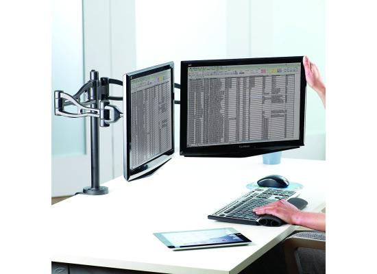 Fellowes Professional Depth Adjustable Dual Monitor Arm