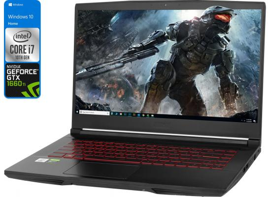 MSI GF65 Thin NEW 10Gen Core i7 6-Cores w/ GTX 1660TI 144Hz w/o Gaming Headset