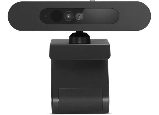 Lenovo 500 Full HD - USB Webcam Windows Hello , Black