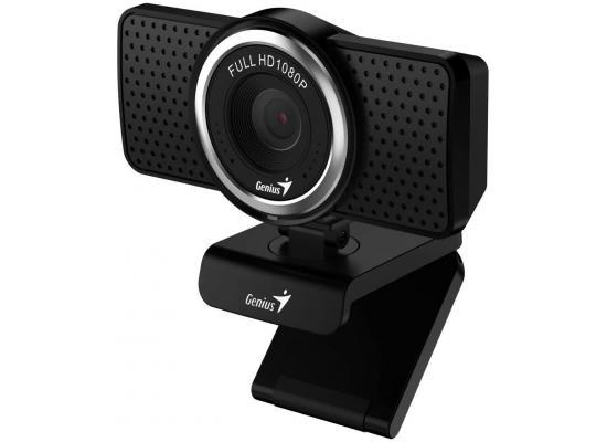 Genius ECam 8000 Black 1080p Webcam Full HD Webcam